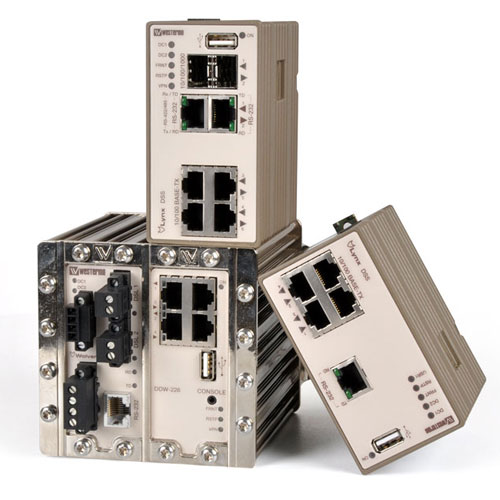 Lynx and Wolverine industrial ethernet switches.