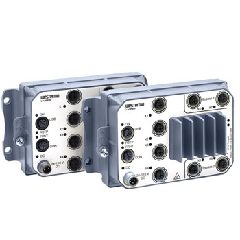 The Westermo Viper series of rugged and railway approved Ethernet routers.