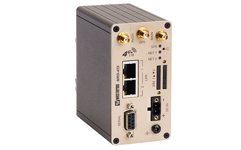 Industrial cellular router MRD-455/455-NA by Westermo.