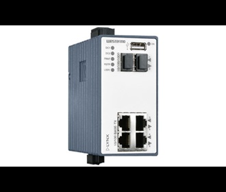 Westermo Lynx Managed Ethernet Switch L106-F2G.