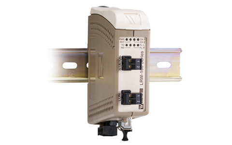 Westermo Industrial Fibre optic repeater for TP/FT-10 LRW-102.