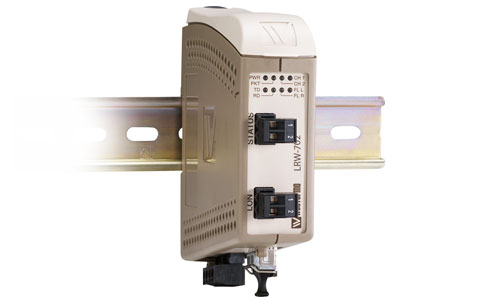 Fibre optic repeater for LonWorks®, TP/FT-10 - LRW-702-F2 by Westermo.