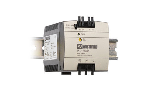 DIN-Rail PoE Ready PSU PS-100 by Westermo