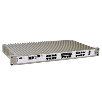 "19"" Rackmount Industrial Routing Switch Westermo RFIR-227-F4G-T7G-DC"