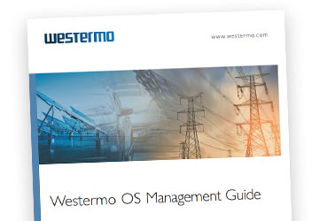 WeOS managemant guide illustration.